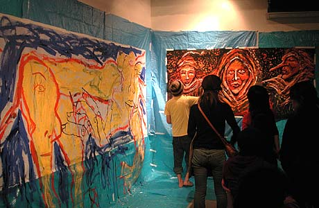 Live Painting Piga Piga 9th